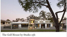 Residence 70s - The Golf House - Featured on The Contemporist Blog