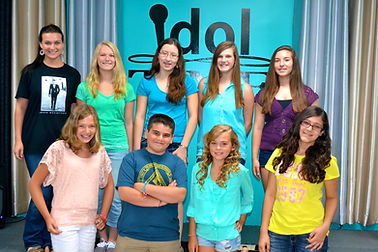 Singing Summer Camp NJ, Summer vocal lessons, kids having fun, idol time vocal academy, singing lessons NJ, Kayla Caffrey
