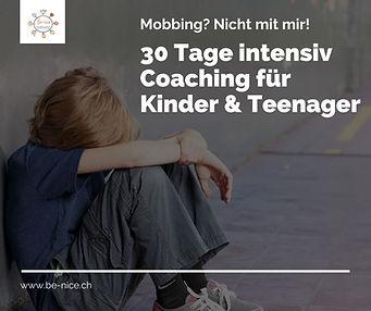 30 Tage Intensiv Coaching gegen Mobbing