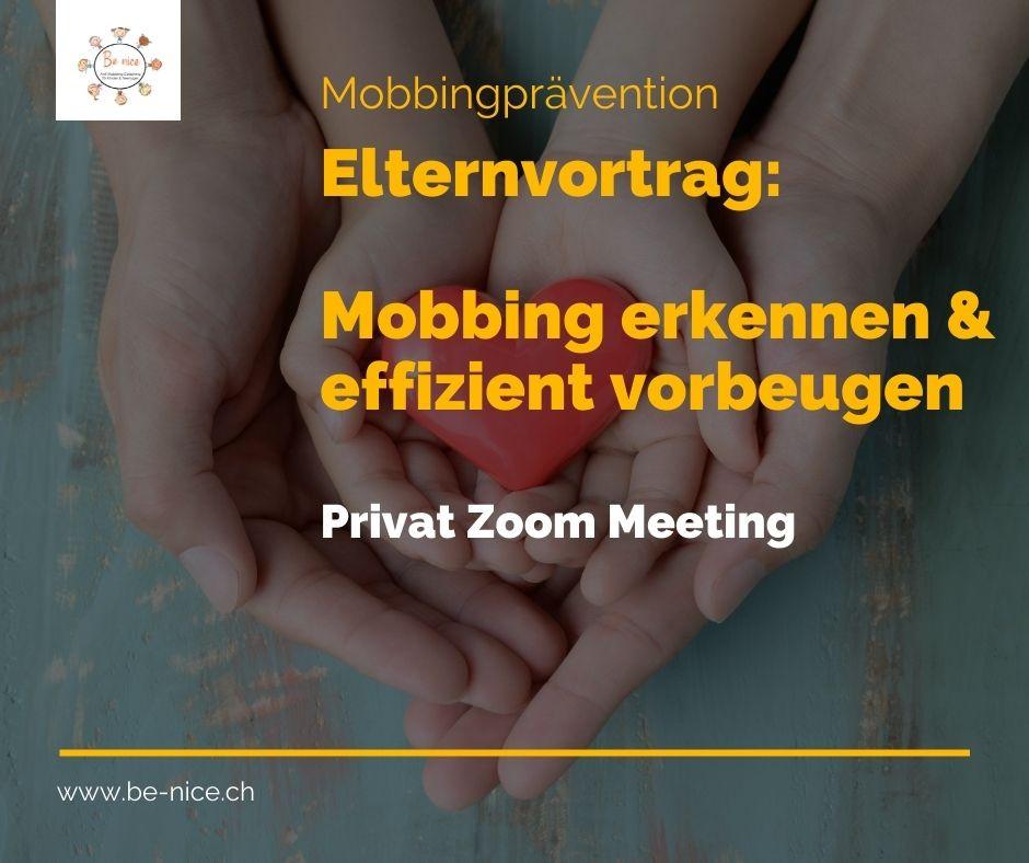 Vortrag Mobbing Prävention