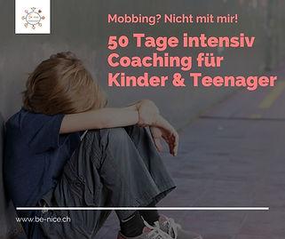 50 Tage Intensiv Coaching gegen Mobbing