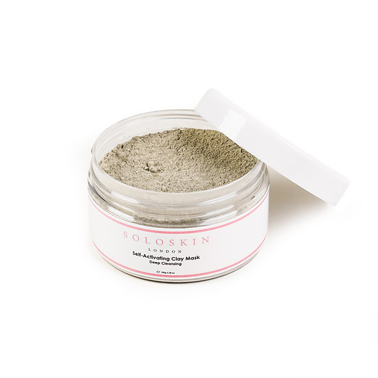 Self-Activating Clay Mask