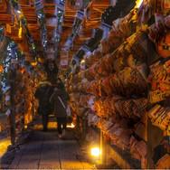 17:30|夕暮れの川越氷川神社
