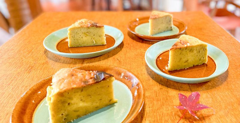 サツマイモのケーキ。