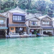 10:00|伊根散歩、舟屋のある風景