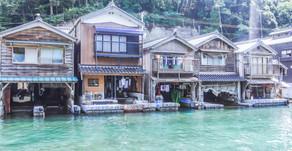 伊根散歩|舟屋のある風景
