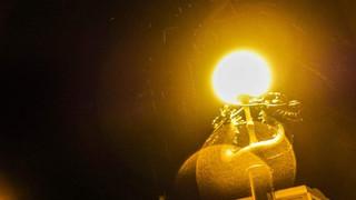 龍の街路灯が日光門前の夜を照らす #日光門前に暮らす #4