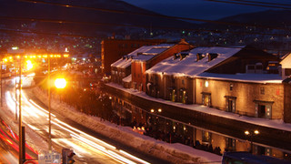 20:00|雪と、運河と、灯りと。|小樽界隈