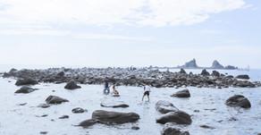 美の町|三ツ石の海岸