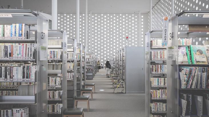 みらい、図書館。