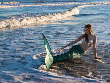 Lebe deinen Traum, wieso nicht mal als Meerjungfrau?