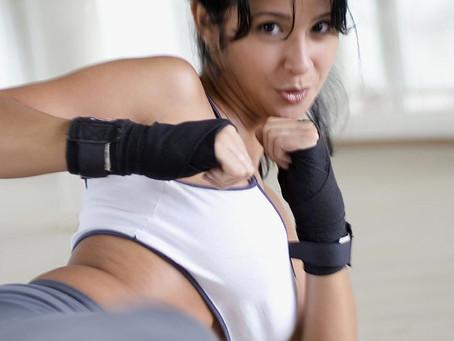Kickboxen - mehr als Selbstverteidigung für Powerfrauen