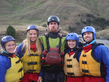 Water meets Action - Rafting in Neuseeland