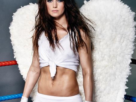 Engel im Alltag, Biest im Ring - das ist die Weltmeisterin im Kickboxen