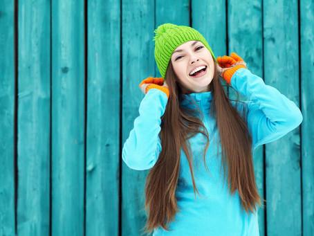Trendfarbe Türkis - und ab damit in den Schnee