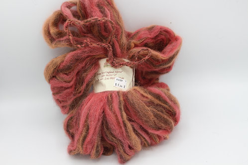 2 oz Falling Leaves Alpaca Roving