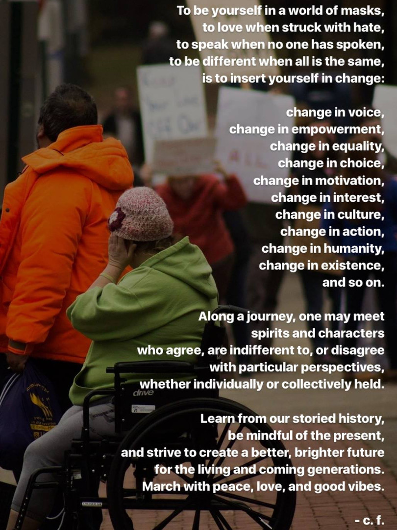 A Message of Change