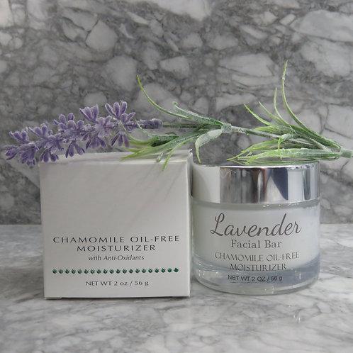 Chamomile oil-free moisturizer