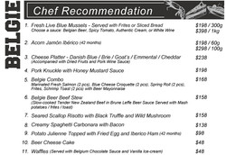 Chef Recommendation