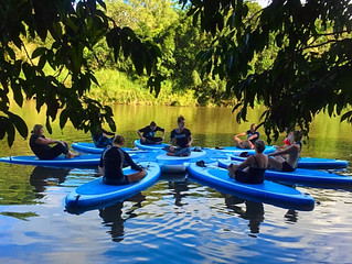 Rainforest Flow SUP Yoga
