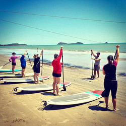SUP Lesson Kewarra Beach