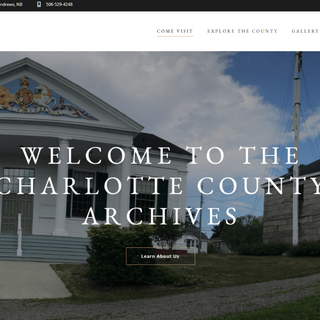 Welcome To The Charlotte County Archives