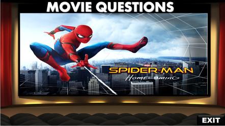 Spiderman, movie questions, videos
