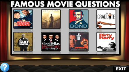 famous movie questions, videos, listening