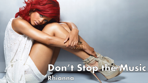rhianna, dont stop the music, pop