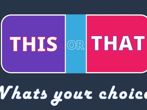 This or That - Fun game of Preference and Comparison