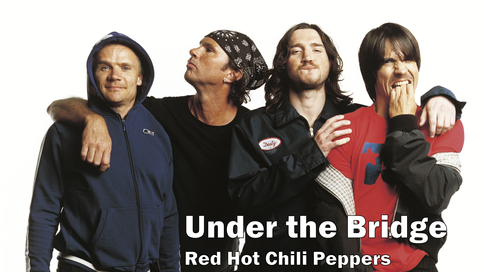 red hot chili peppers, under the bridge