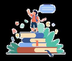 schoolboy-standing-books-raising-hand-sp