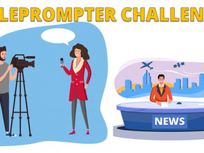 Can You Pass The Teleprompter Challenge?