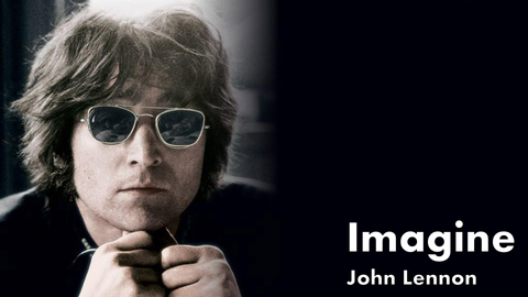 john lennon, imagine