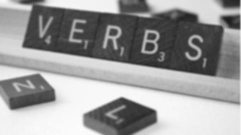 verbs, grammar, word sets, vocabulary