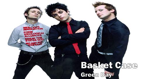 green day, basket case, rock