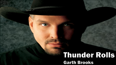 garth brooks, thunder rolls