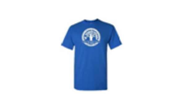 Royal Blue Short Sleeve Tee (DriFit Polyester)