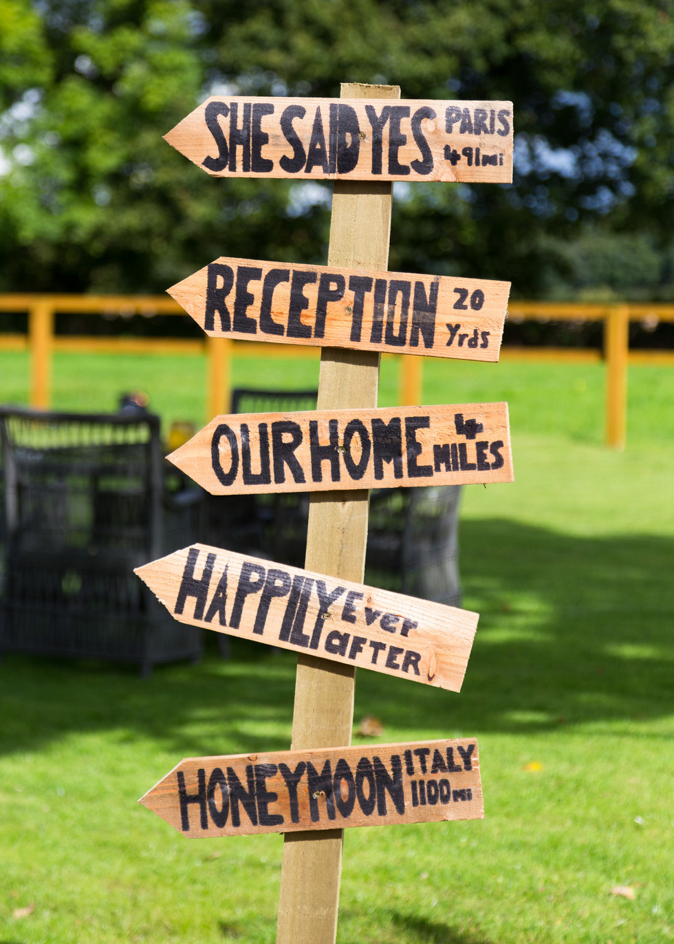 Wedding Signs Christa Emily Photography