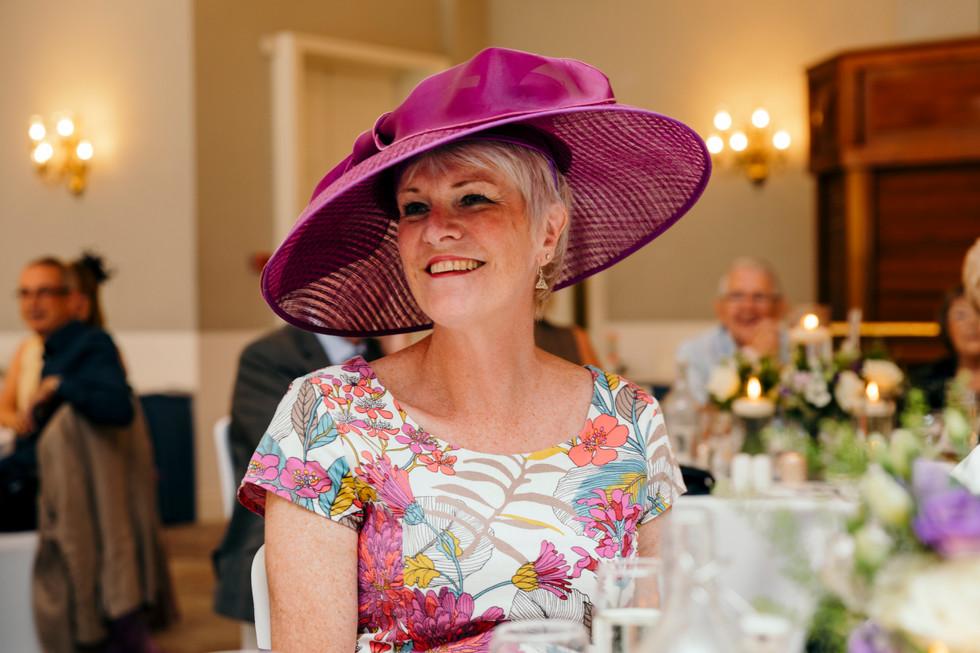 Guests at Statham Lodge, Cheshire Wedding