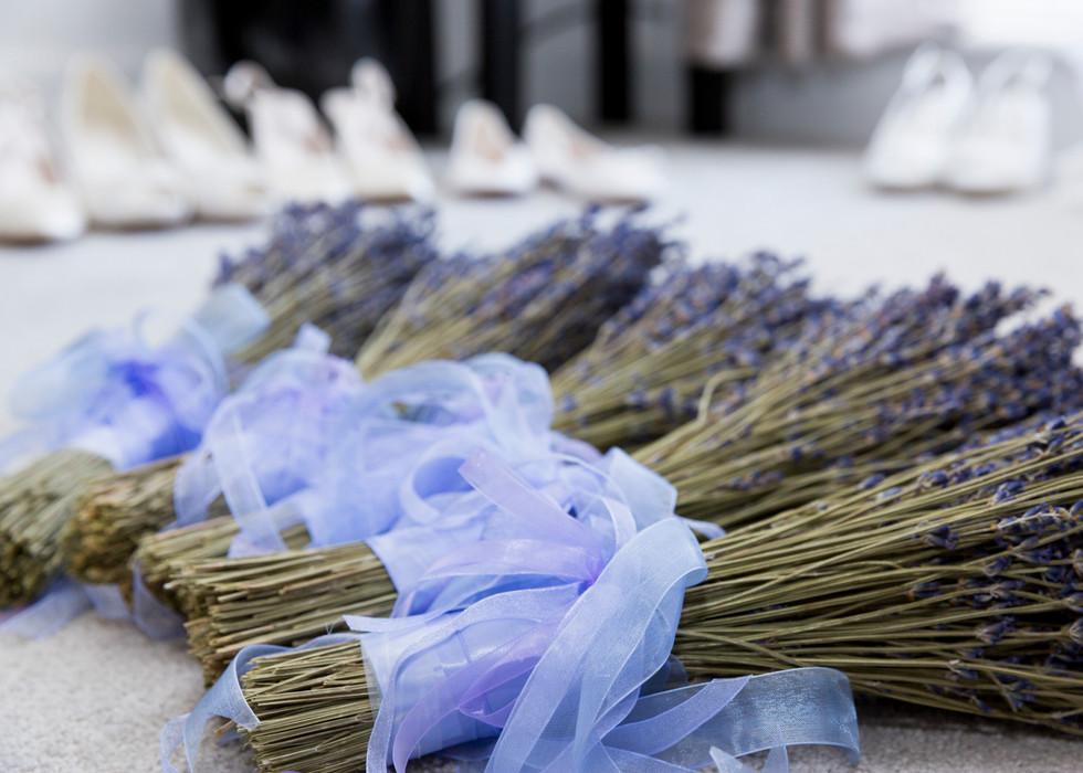 Lavender Bouquets Christa Emily Photography