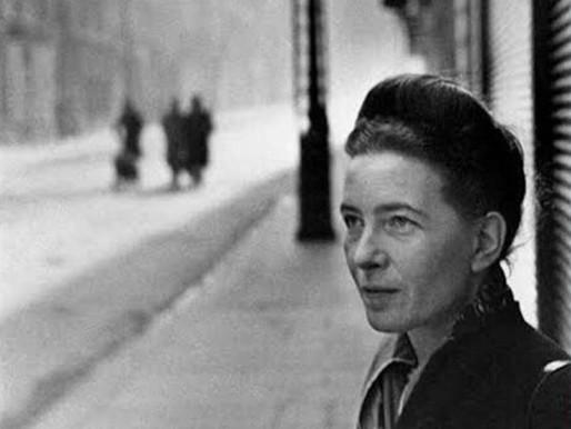Simone de Beauvoir, literatura