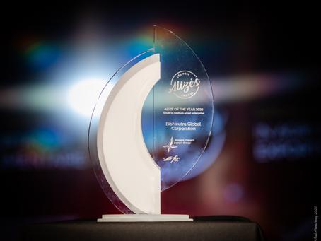 BIONEUTRA – SUGAR ALTERNATIVE MAKER – WINS A TOP CANADIAN EXPORT AWARD
