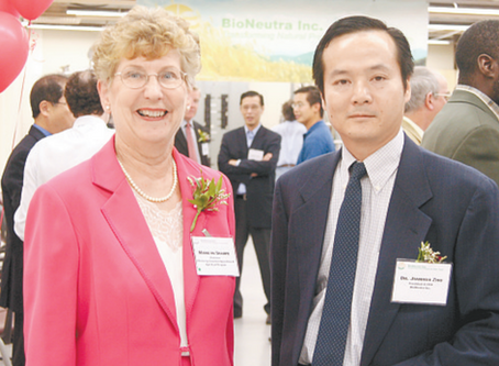 LOCAL COMPANY PIONEERS BIOSCIENCES IN AGRICULTURE