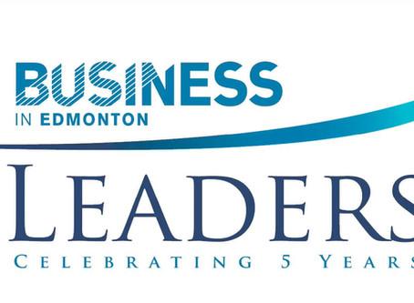 2017 BUSINESS IN EDMONTON AWARD