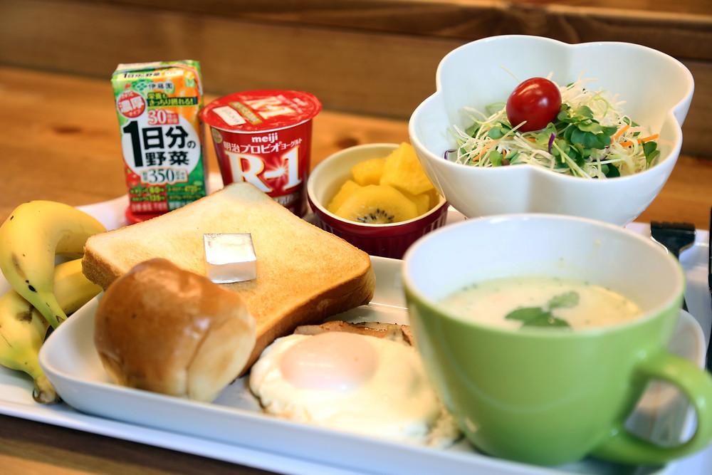 お気軽朝食