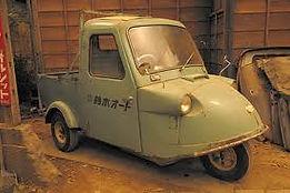 ダイハツ ミゼットMP2 昭和34年発売開始