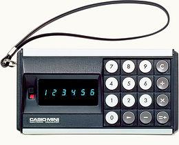 昭和47年「世界初のパーソナル電卓」驚異的な低価格で発売されたカシオミニ