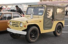 鈴木昭和45年 自動車「ジムニー」(軽自動車で初の四輪駆動)