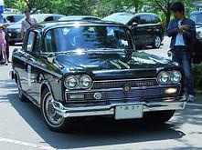 1963年(昭和38年) ニッサン セドリック スペシャル (50型)戦後初の3ナンバー